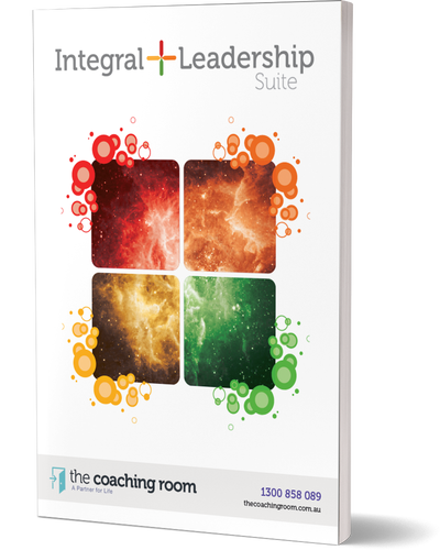 Integral Leadership 3d Brochure cover